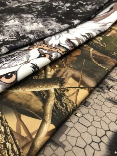 Ткань Алова камуфлированная